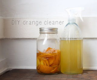 Homemade Orange Degreaser