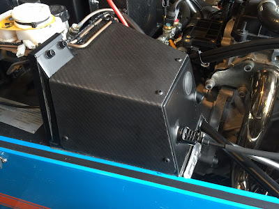Caterham Carbon Pedal Box Cover only 108g!