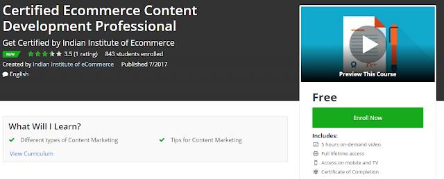 Certified-Ecommerce-Content-Development-Professional