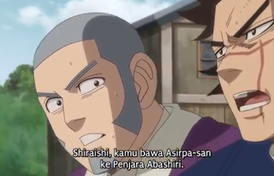 Golden Kamuy Episode 17 Subtitle Indonesia