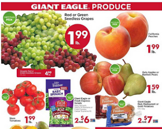 Giant Eagle Weekly Ad September 20 - 26, 2018