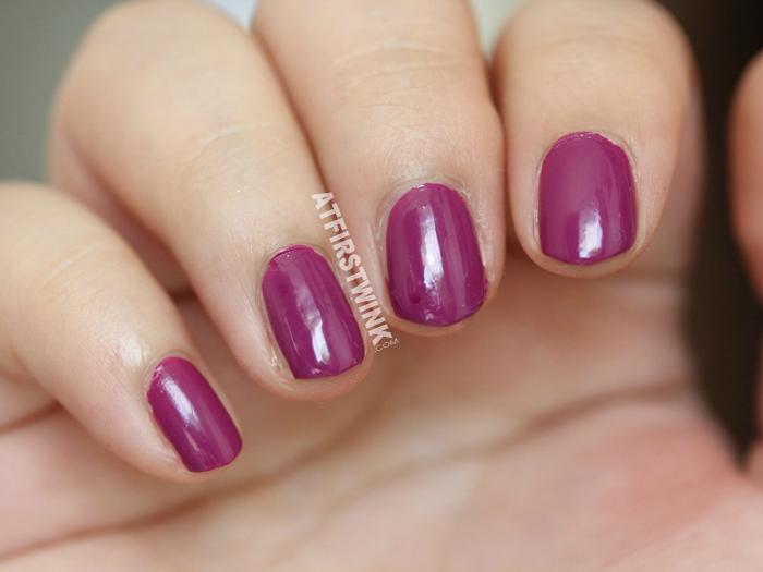 Dior vernis 338 Mirage review + swatch