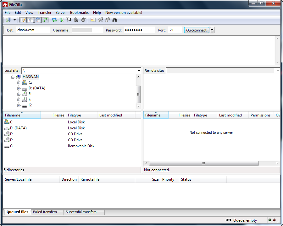 Cara memindahkan drupal localhost ke online hosting (cpanel)