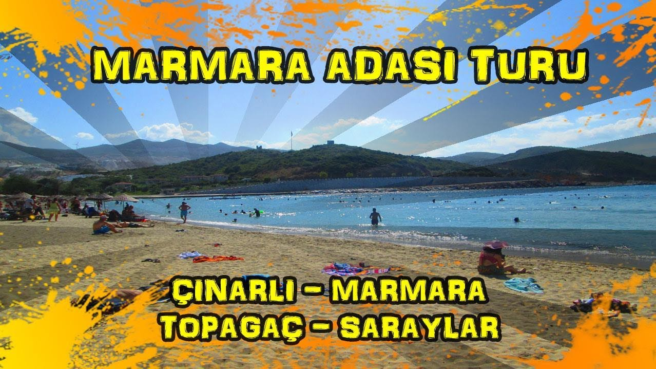 2018/08/11 Marmara Adası Bisiklet Turu - Çınarlı - Marmara - Topağaç - Saraylar