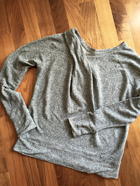 Diary of a Chain Stitcher: Papercut Patterns Bowline Sweater in Theory Linen Knit from Mood Fabrics