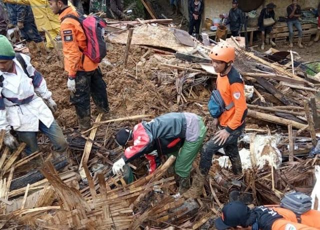 Update Longsor Sukabumi, BPBD: Korban Tewas 11 Orang, 63 Orang Selamat
