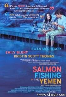 Pelicula La Pesca del Salmon en Yemen