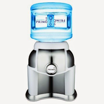Spill Proof Loading Primo Countertop Bottled Water Dispensers