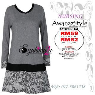 T-Shirt-Muslimah-Awanazstyle-AW0020T