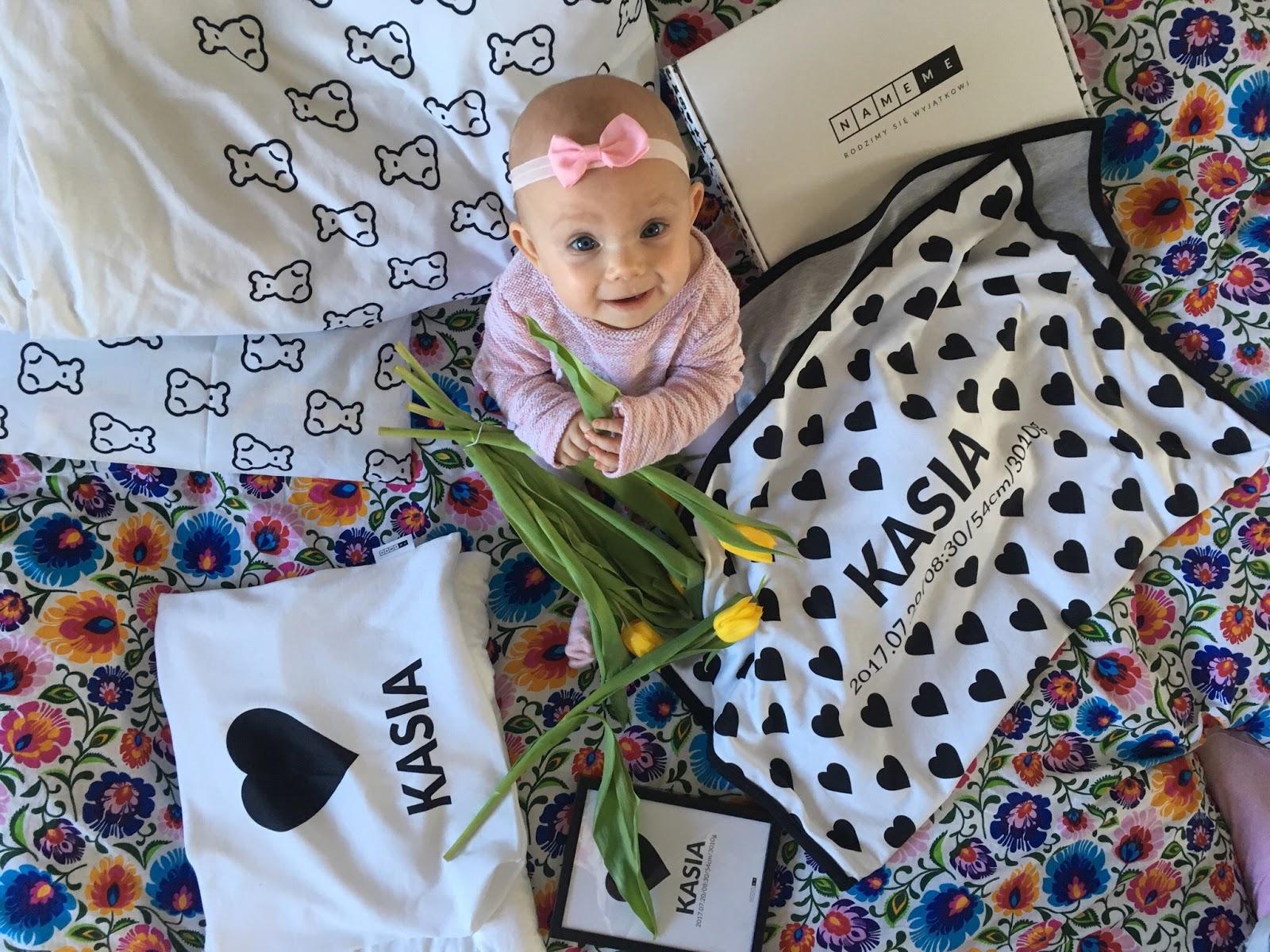 personalizowany kocyk prezent dla dziecka