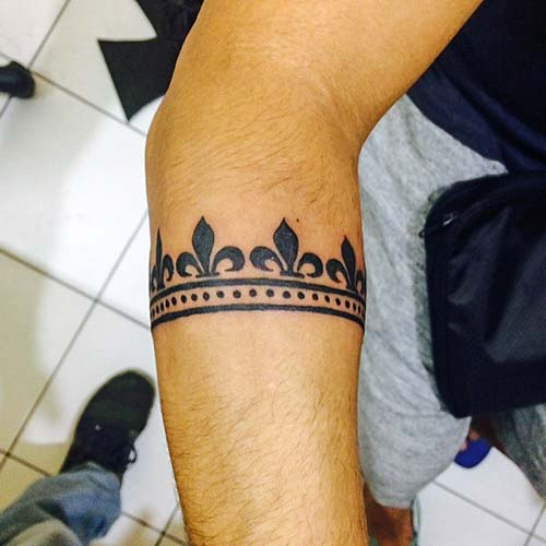 forearm armband tattoo alt kol bandı dövmesi