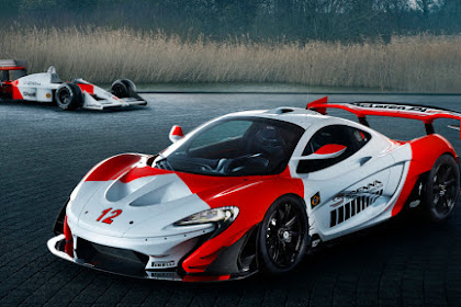 McLaren P1 GTR Senna tribute vehicle worked by MSO as a definitive P1