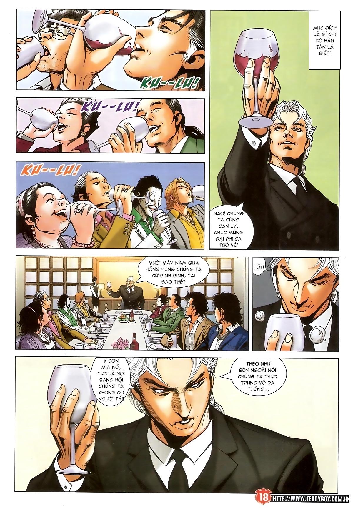 Người Trong Giang Hồ - Chapter 1557: Ngạnh Hán - Pic 17