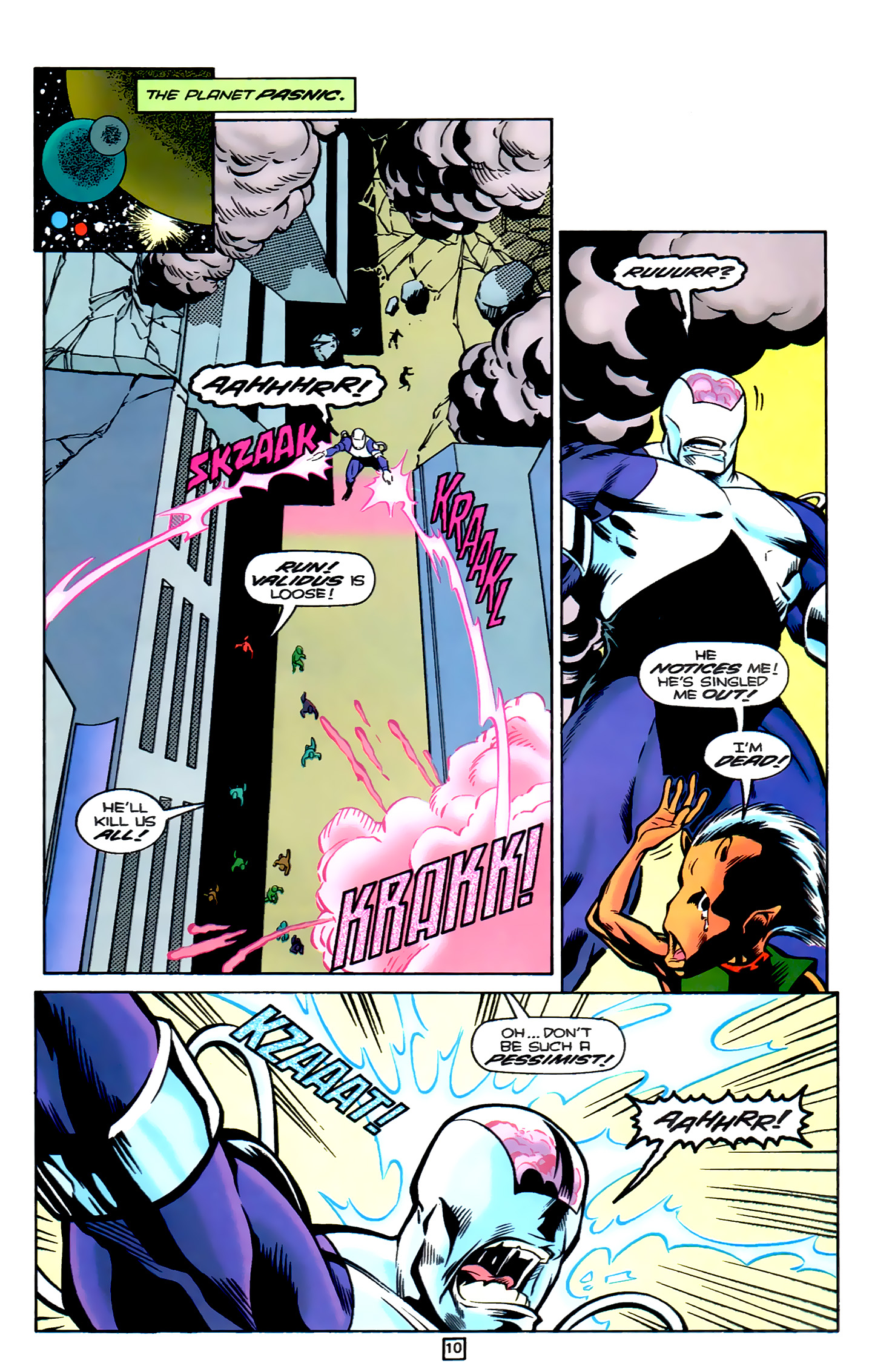 Legion of Super-Heroes (1989) 78 Page 10