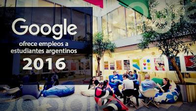 google ofrece empleos a estudiantes argentinos