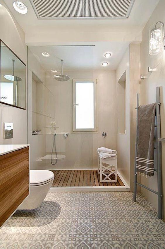 Suelos elegantes, para conseguir un baño elegante