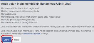 Cara Memblokir Akun Facebook Orang Lain Via Hp