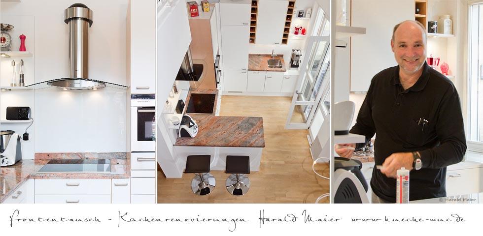 wir renovieren ihre k che frontentausch. Black Bedroom Furniture Sets. Home Design Ideas
