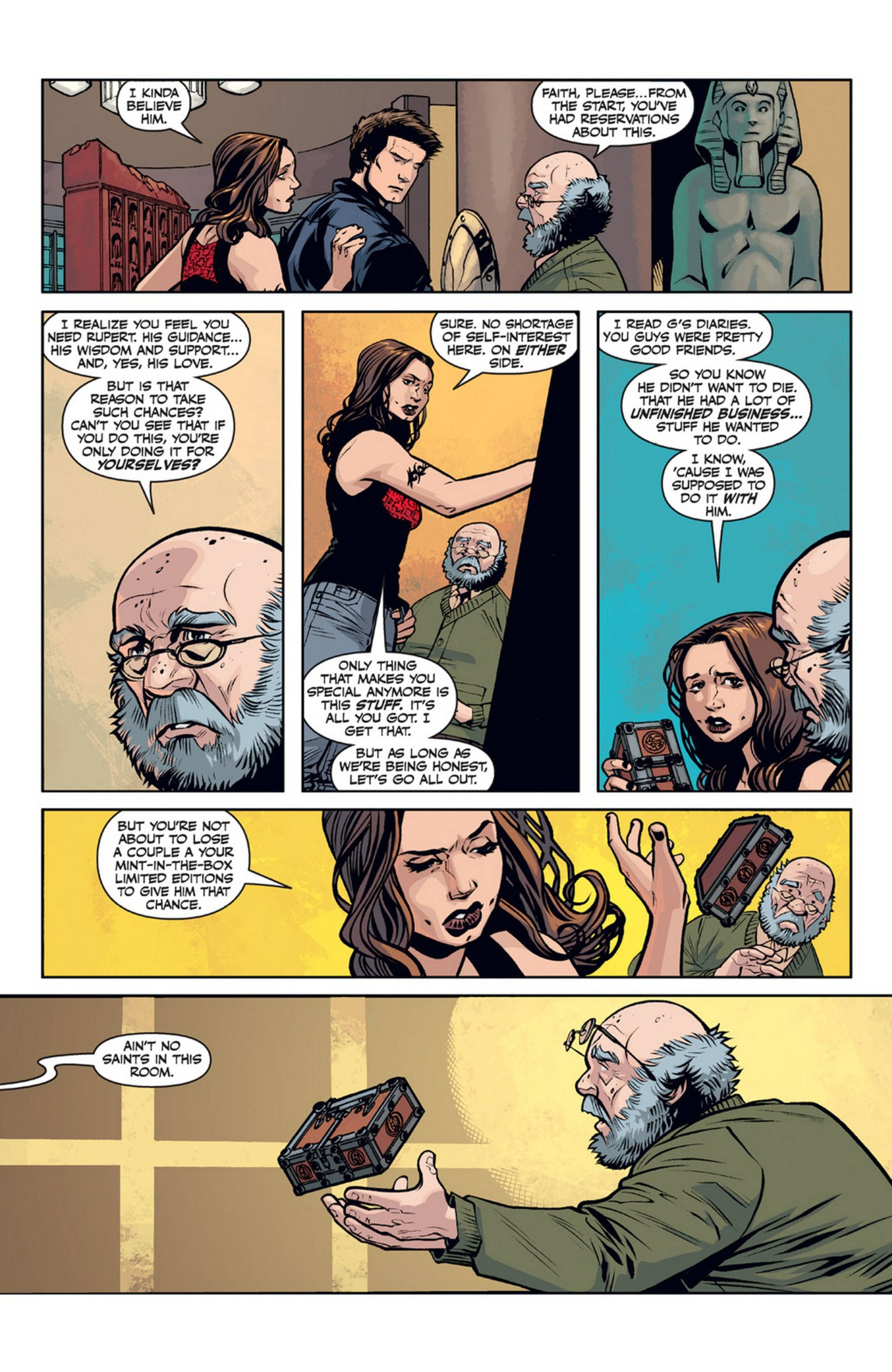 Read online Angel and Faith comic -  Issue #21 - 11