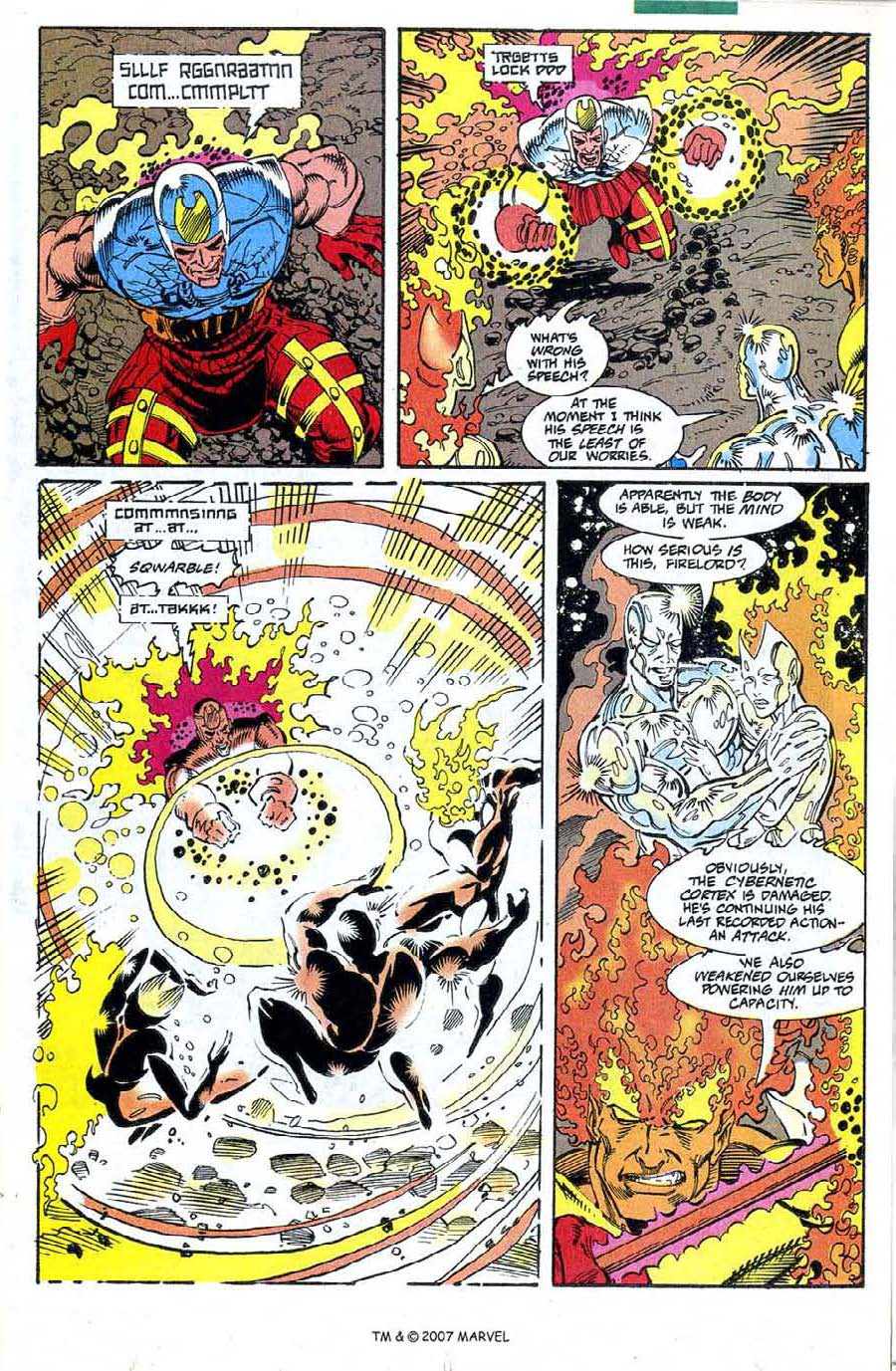 Read online Silver Surfer (1987) comic -  Issue #73 - 17