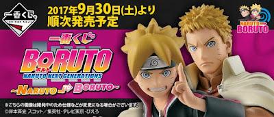 """Ichiban KUJI Boruto y Naruto de """"Boruto - Naruto Next Generations - Banpresto."""
