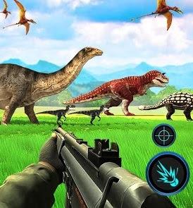 تحميل لعبة صيد الديناصورات فى الغابة Dino Hunter للاندرويد والايفون