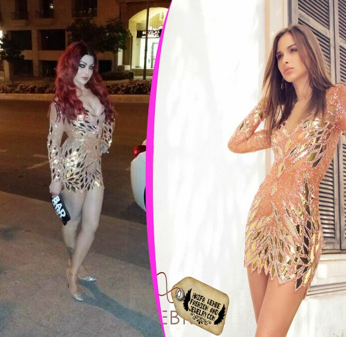 351e380ae1 Haifa Wehbe arrived at the Premiere Event for her latest project, the movie  of the year Halawet Rouh. Haifa stepped out of her car wearing this coral  short ...