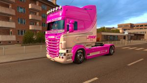 Road Queen paintjob for Scania RS