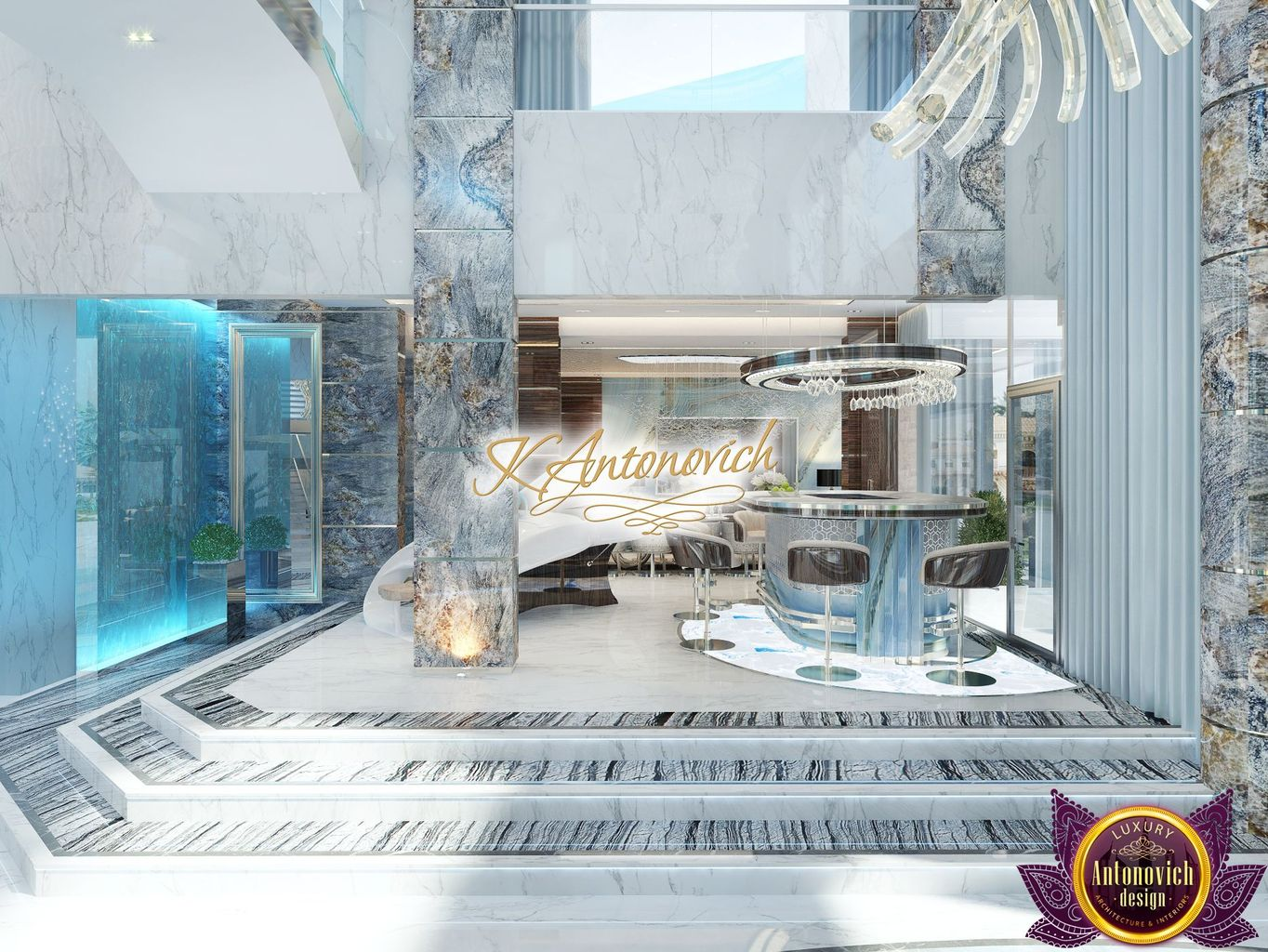 Luxury antonovich design uae for Top interior design firms dubai