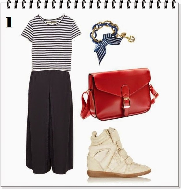 Outfits culotte pants