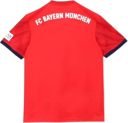 バイエルン・ミュンヘン 2018-19 ユニフォーム-ホーム
