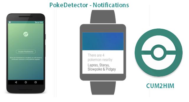 Aplikasi Poke Detector - Notifications Untuk Berburu Pokemon
