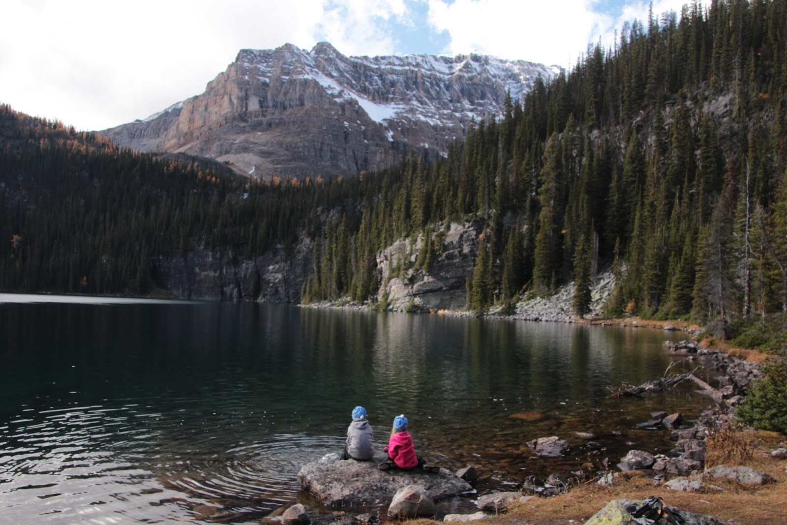 Family Adventures In The Canadian Rockies Backcountry Banff With Kids Egypt Lake