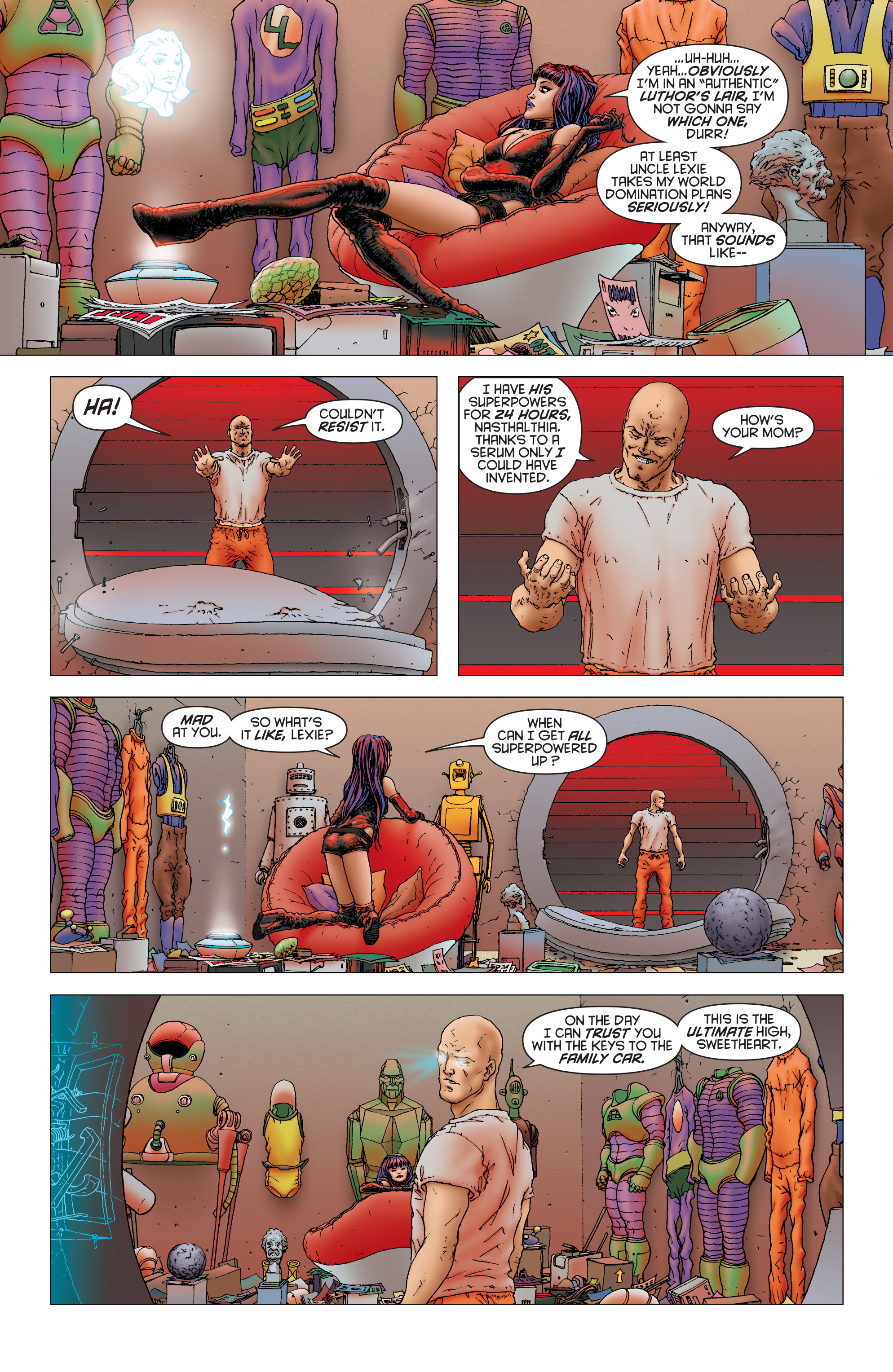 Read online All Star Superman comic -  Issue #11 - 8