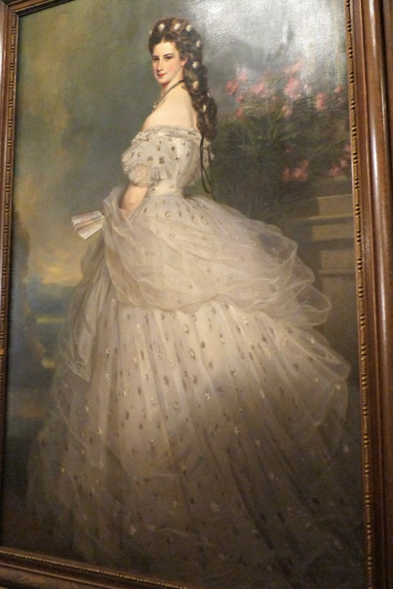 Empress Elisabeth painting Hotel Imperial