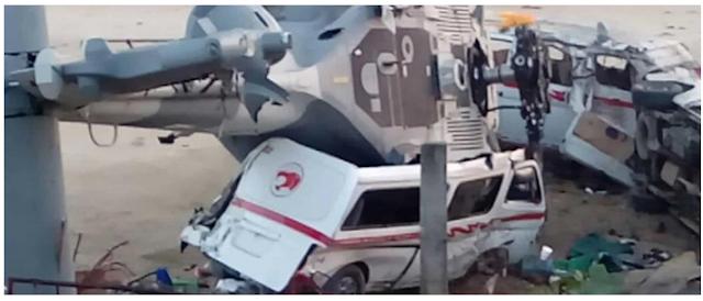 """13 MUERTOS: """"HELICOPTERAZO OFICIAL"""" DEJÓ MAS PÉRDIDAS que las que PRETENDÍA RESOLVER TRAS TEMBLOR"""