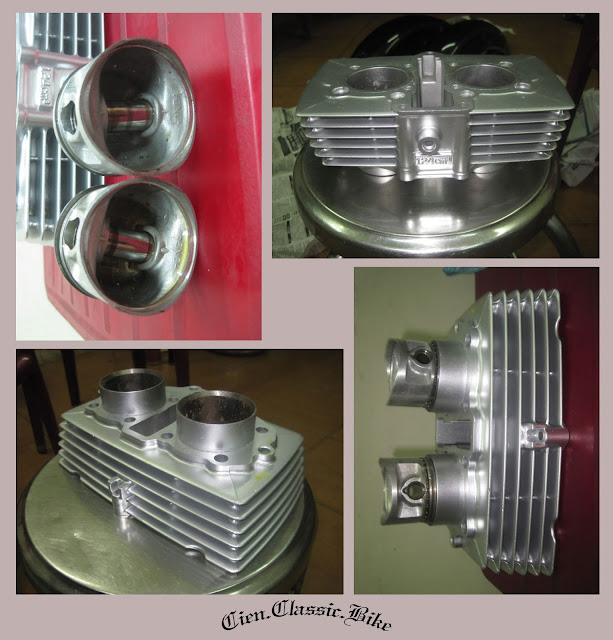 [Dự án] Tân trang Honda Bently 125 - Phần 4