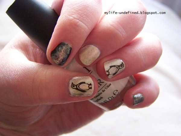 My life? Undefined!: Lets go Pens! Nail Art inspired by ...