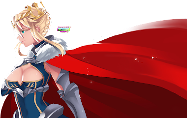 PNG Arthuria Pendragon -  Lancer_ Fate Grand Order