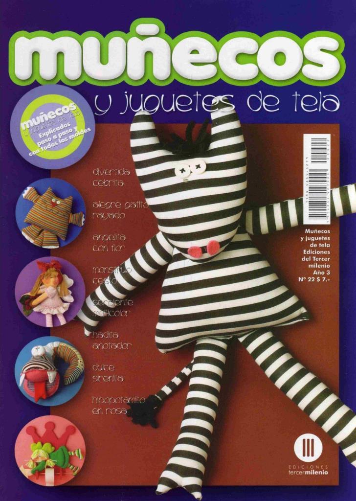 Muñecos y Juguetes de tela Nro. 22