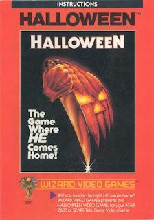 Halloween Atari instruction booklet
