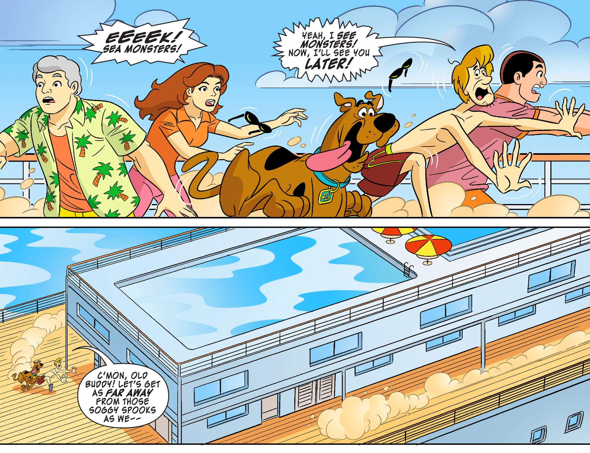 Read online Scooby-Doo! Team-Up comic -  Issue #27 - 6
