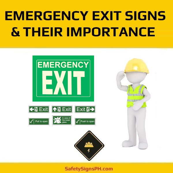 Emergency Exit Signs & Their Importance