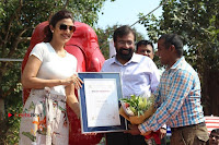 Bollywood Actress Shilpa Shetty Pos at Yoga Posed Statue Inauguration .COM 0018.jpg
