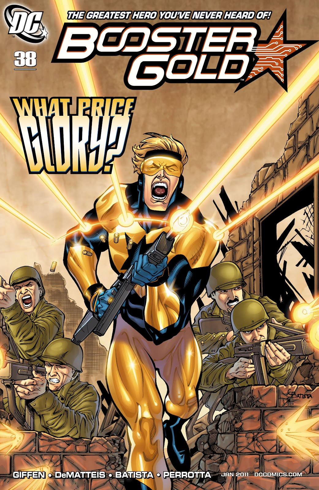 Booster Gold (2007) issue 38 - Page 1