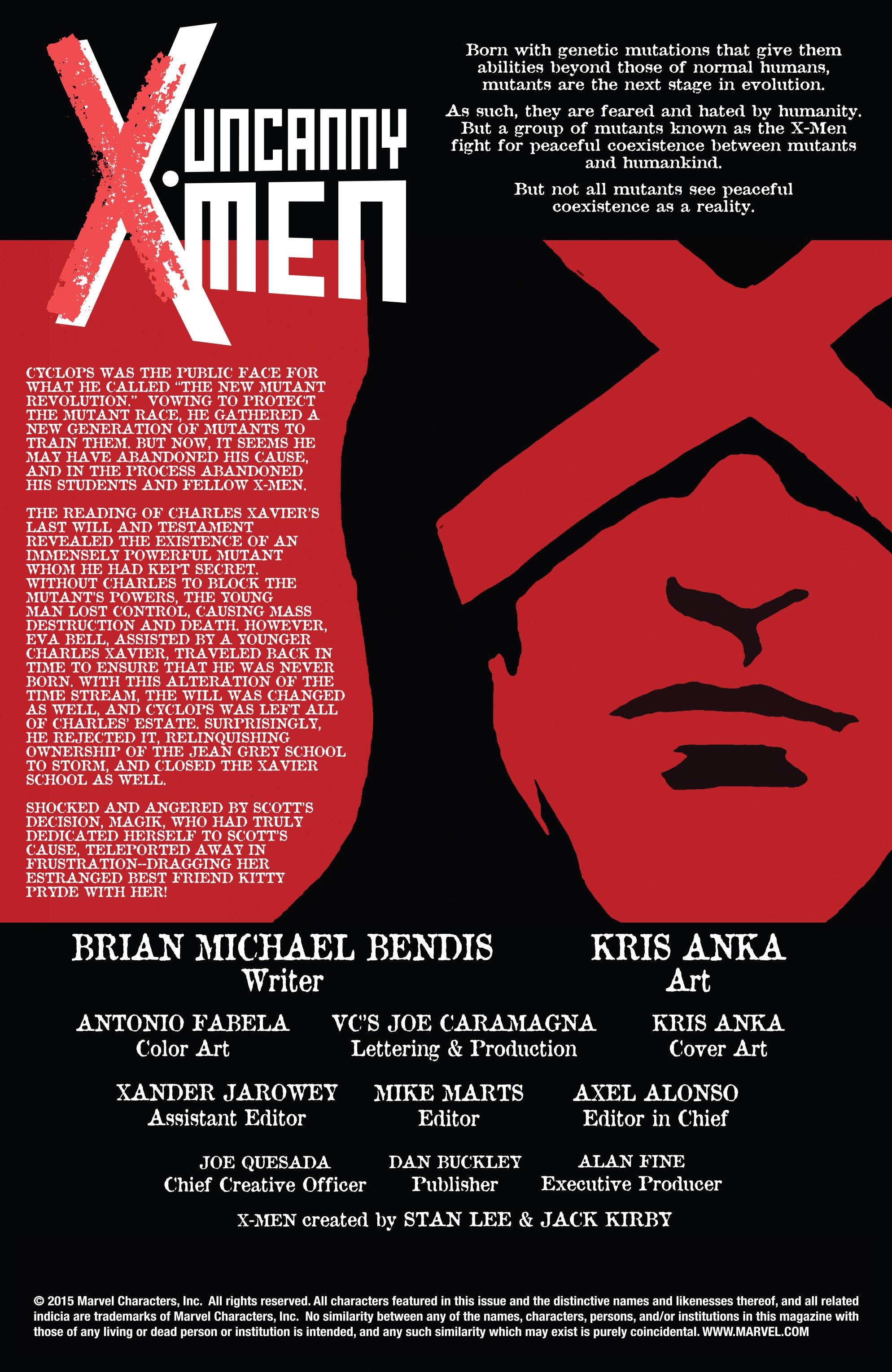 Read online Uncanny X-Men (2013) comic -  Issue #33 - 5