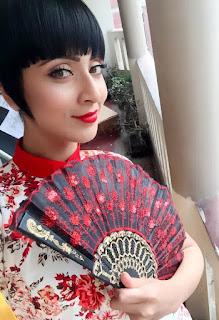 Bidya Sinha Saha Japanese Model Style
