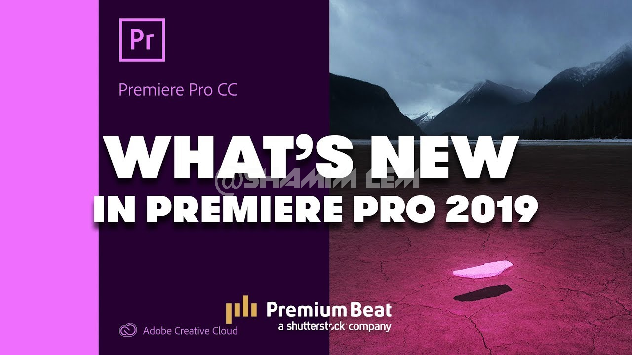 Adobe Premiere Pro CC 2019 13 1 0 193 Free Download