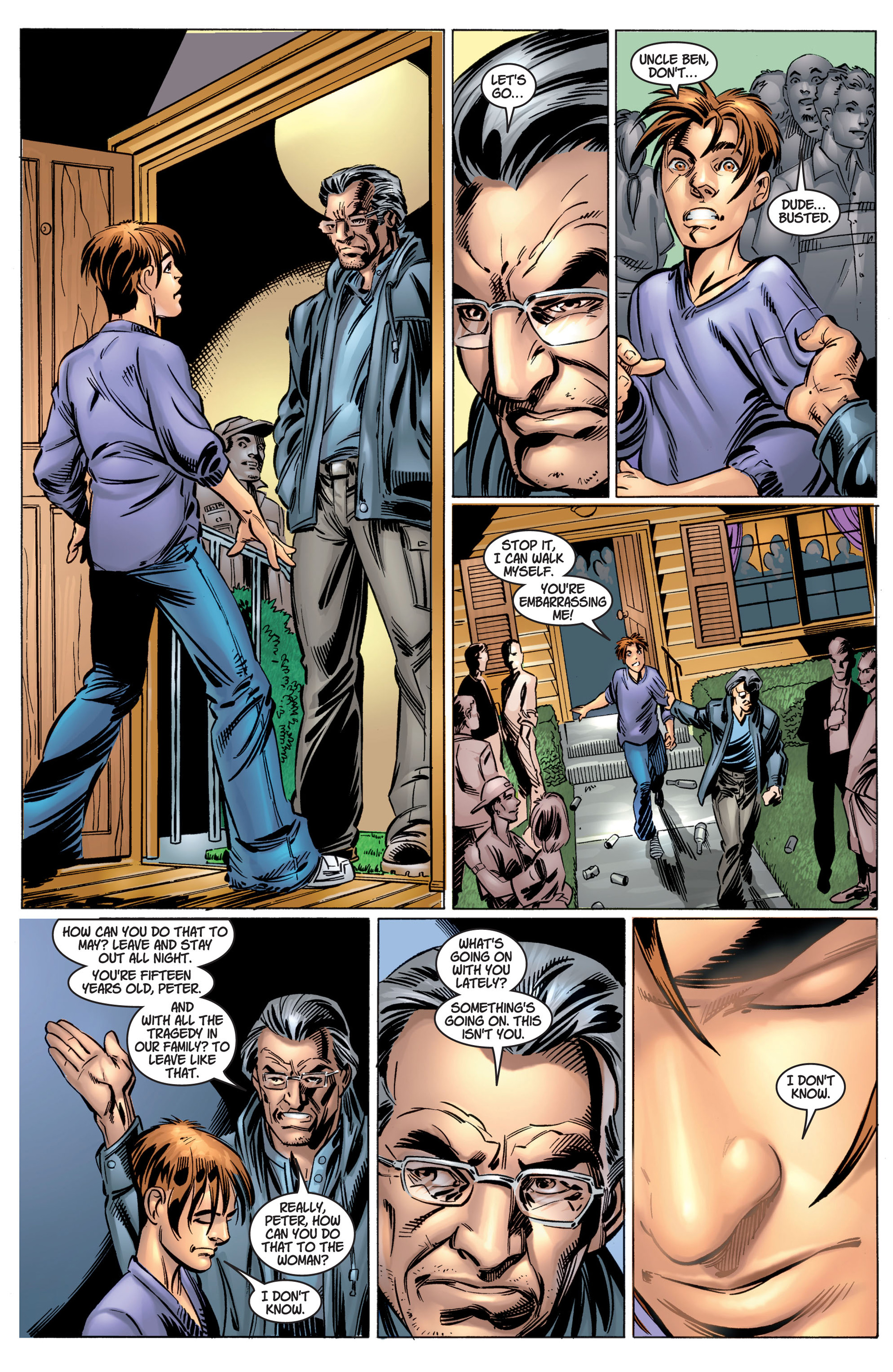 Read online Ultimate Spider-Man (2000) comic -  Issue #4 - 17