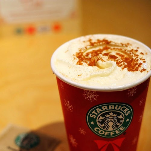 Christmas In A Cup Latte - Starbucks